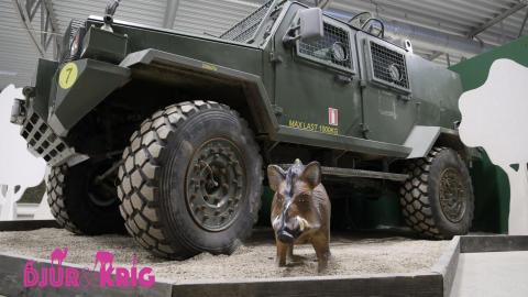 Invigning av utställningen Djur & Krig!