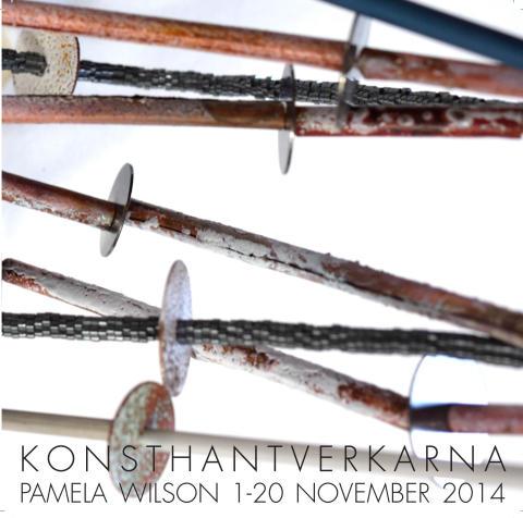 Pamela Wilson på Konsthantverkarna 1-20/11 2014