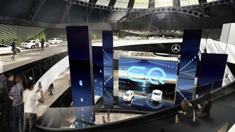 Spændende modeller på programmet hos Mercedes-Benz ved dette års IAA-messe i Frankfurt