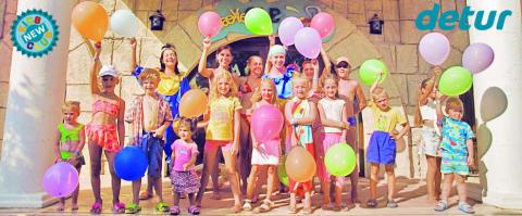 Detur lanserar Barnklubb på tre resmål i Turkiet