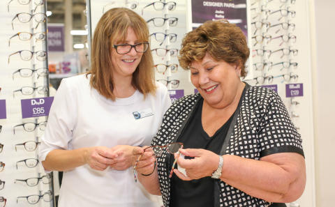 Local MPs and charity ambassador join Vision Express to celebrate the opening of its new optical stores in Merseyside