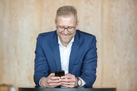 Lars Appelqvist är Årets Superkommunikatör inom Företag & Näringsliv