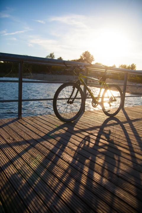 Goitzsche Fahrradhafen ©Alexander Klich