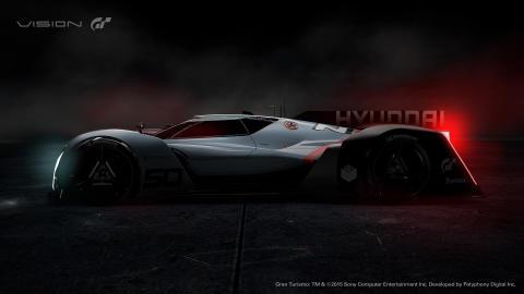 Hydrogenelektrisk bil med racingeffekt