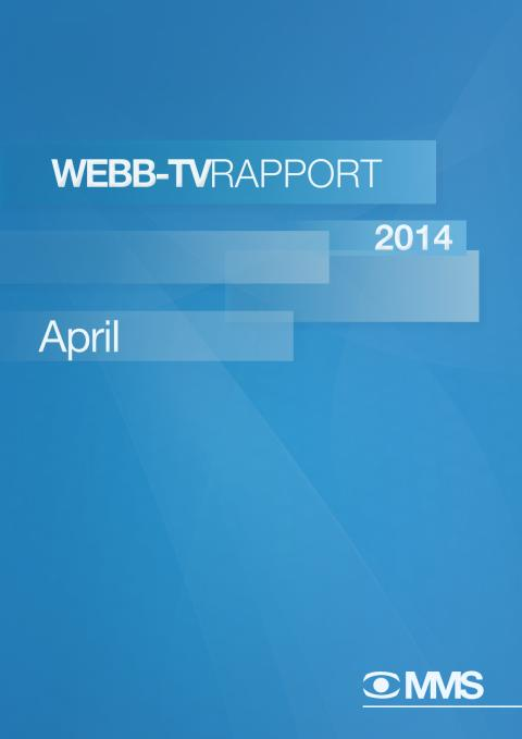MMS Webb-TV-Rapport april 2014