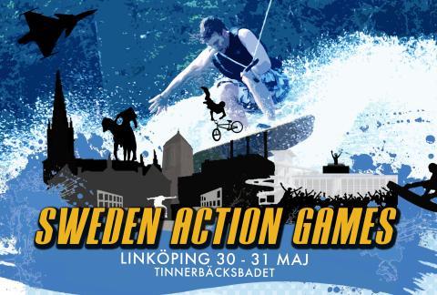 Tinnerbäcksbadet värd för Sweden Action Games
