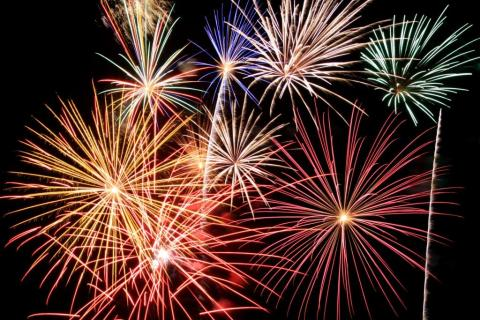 Firework displays will be held in Middleton, Heywood and Rochdale