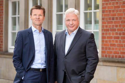 Michael Lempe (l.) und Lutz Trey