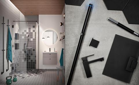Følg den svarte tråden på badet med INR Black Edition!