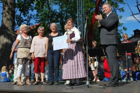 Görvälns kulturpris 2013 till koloniträdgårdsförening