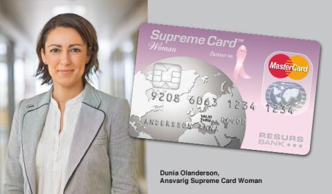Nu kör vi Rosa Månad – 10 kronor per köp med Sveriges mest omtänksamma betalkort