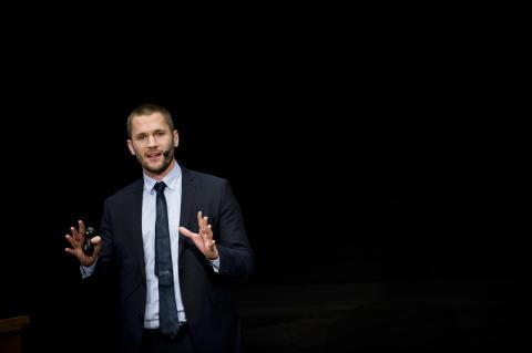 Niklas Modig, forskare vid HHS och föreläsare på IFL