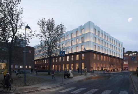 Tapetfabriken i Sickla blir ett Clarion Collection Hotel