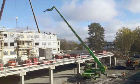 Ramirent kurottaa yli 50 kappaleen konemäärällä Suomessa
