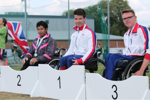 Record-breaking Games for SportsAid athletes in Stoke Mandeville