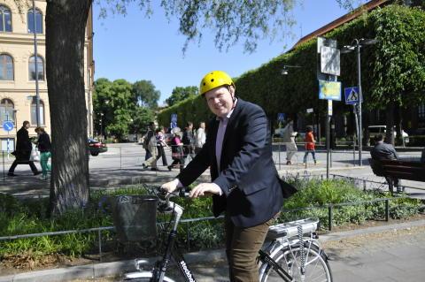 Per Ankersjö (C) och Karin Bagge, Cykelfrämjandet: Stockholms stad ansöker om att leda världens största cykelkonferens