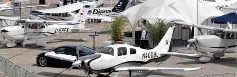 Världspremiär för soldrivna flygplan på ILA Berlin Air Show