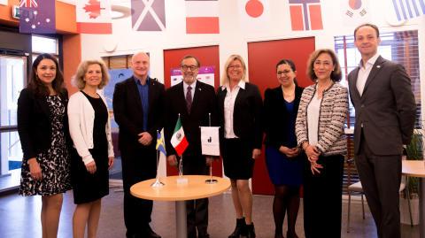 Mexikanska ambassadören besöker Jönköping University