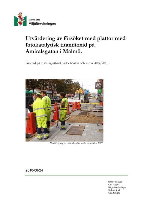 Starka förbättrar stadsluften i Malmö
