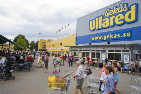 Halland - varuhuset Gekås i Ullared, Falkenberg
