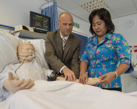Mannequin patients set to transform nurse education in Thailand