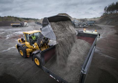 Leistungsfördernde Formgebung - die neuen Radlader-Schaufeln von Volvo Construction Equipment