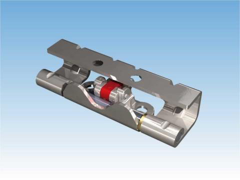 Vision delbart gångjärn m. klick-funktion och 25 mm hålavstånd. Sid. 3-094