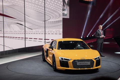 Sju världpremiärer för Audi i Geneve
