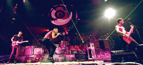 COLDPLAY LIVE 2012 COMES TO CINEMAS AROUND THE WORLD FOR  ONE NIGHT ONLY ON NOVEMBER 13th
