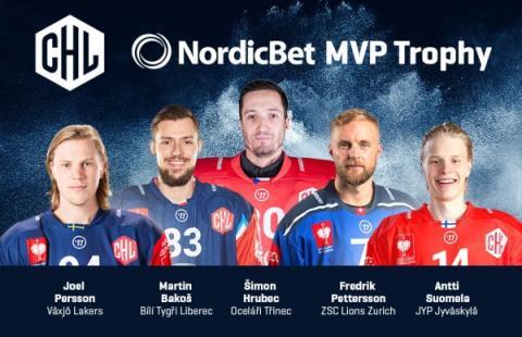 De är nominerade till Most Valuable Player i CHL 2017/18