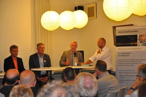 Velbesøgt seminar om infrastrukturen i Øresundsregionen