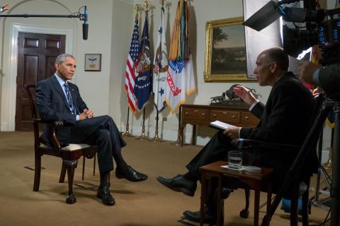 Ainutlaatuinen Obama-haastettelu vain HISTORY-kanavalla