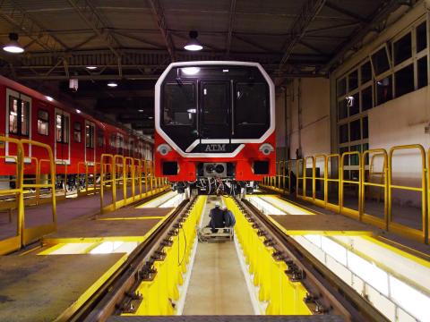 Metro Leonardo produced by Hitachi Rail Italy