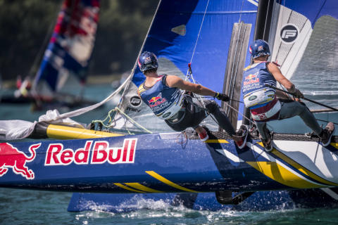 Yanmar Supports Red Bull Foiling Generation
