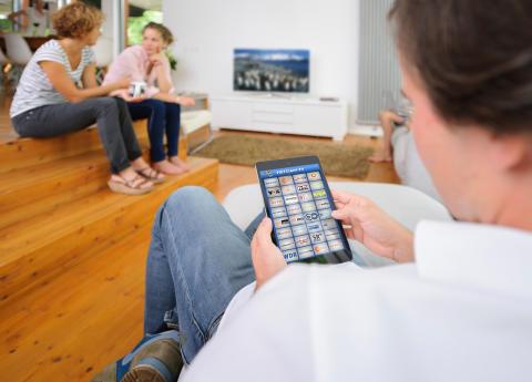 Live TV im ganzen Haus
