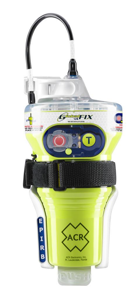 Hi-res image - ACR Electronics - GlobalFIX V4 EPIRB