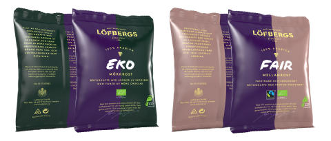​Löfbergs opts for environmentally friendly plastic