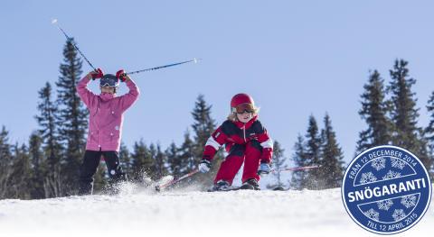 Säsongspremiär på snösäkra Kläppen i Sälen!