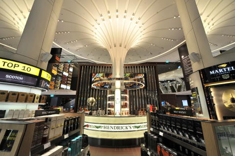 DFS Wines & Spirits flagship store at Changi Airport Terminal 3