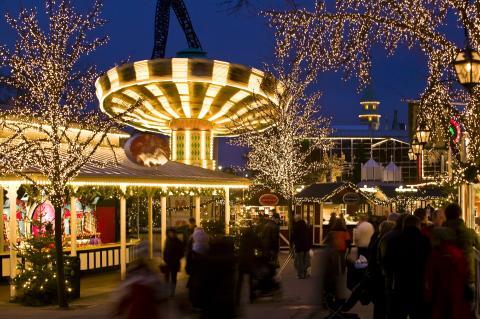 Weihnachten im Liseberg-Park Göteborg