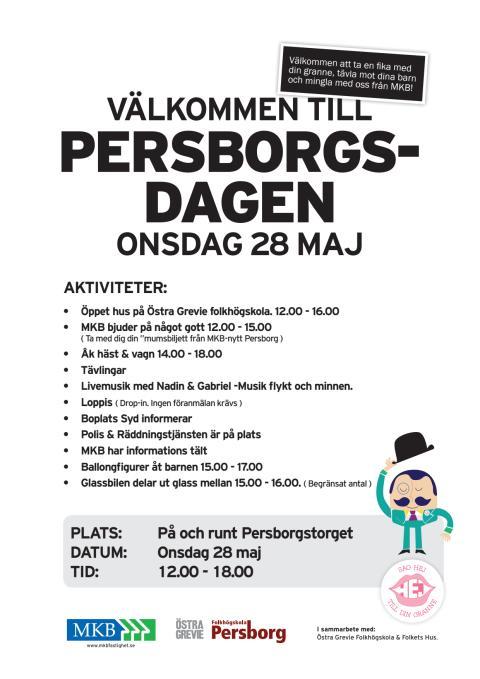 Persborgsdagen den 28 maj 2014