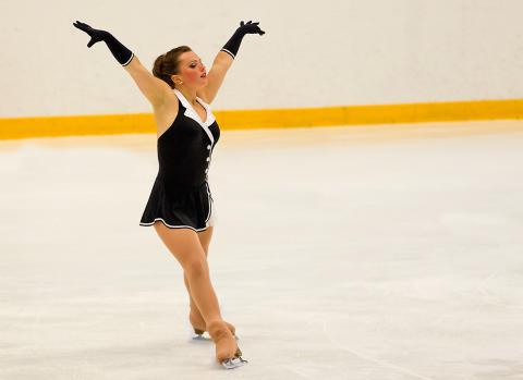 Josefin Taljegård vidare till långa programmet i Vinteruniversiaden - studentidrottens motsvarighet till olympiska spel