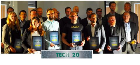 Cavidi in Swedish TECH20 - top 2% of start ups