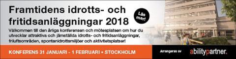 Framtidens idrotts- och fritidsanläggningar 2018