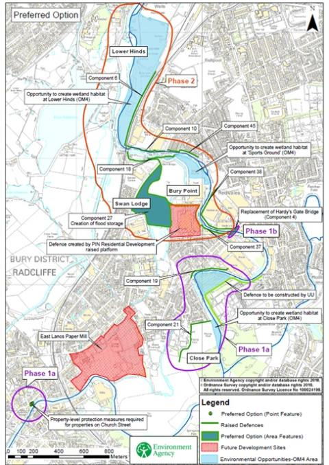 ​Construction on flagship flood scheme to protect Radcliffe and Redvales set to commence