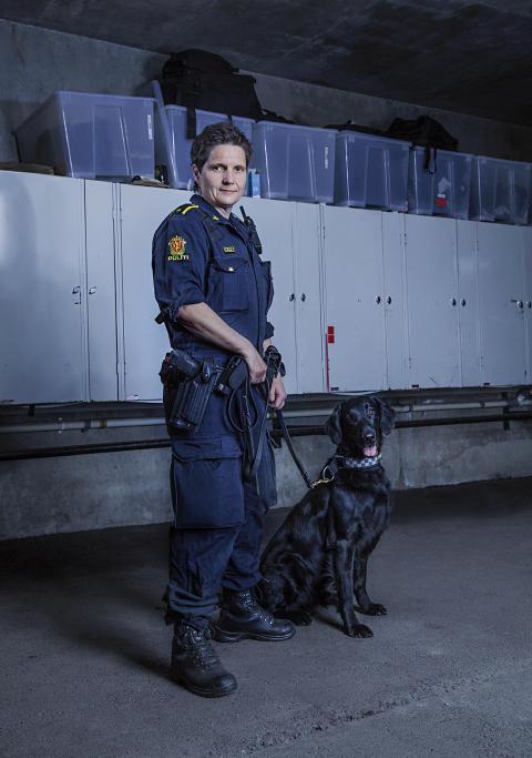 Hundepatruljen Oslo - Torill og Nando