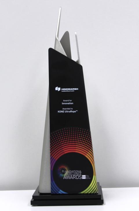 KONE UltraRope™ awarded the Hindmarsh Award for Innovation