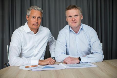 Mikael Hanell och Ulf Strömsten