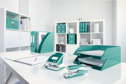 Leitz WOW range in Ice Blue