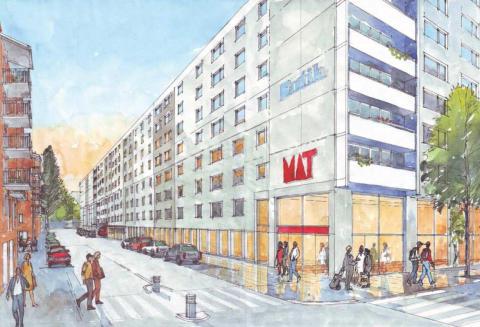 Stockholmshem har tecknat avtal med ICA om Kvantumbutik på Söder